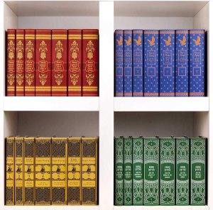 harry potter book jackets, best Zoom backgrounds