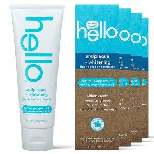 Hello Oral Care Fluoride Free Antiplaque & Whitening Toothpaste
