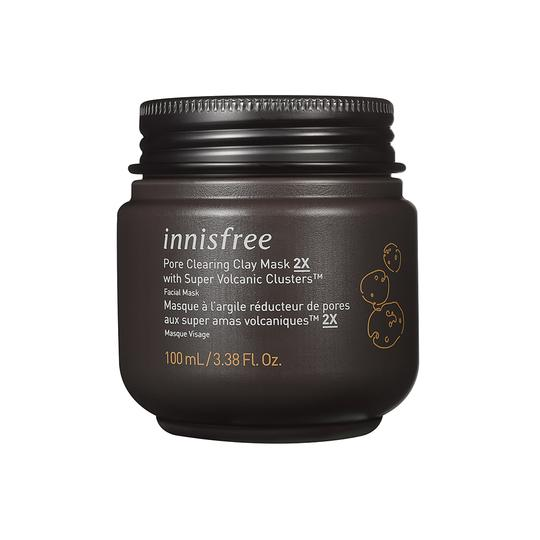 Innisfree Pore Clearing Clay Mask; best Korean face mask