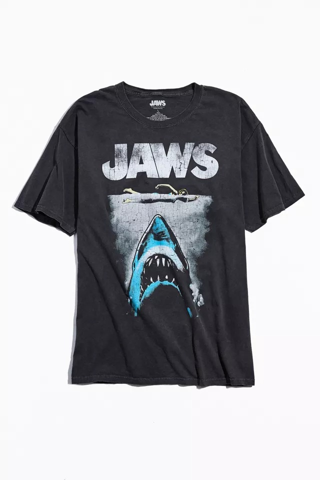 JAWS movie poster t shirt- vintage tee shirt