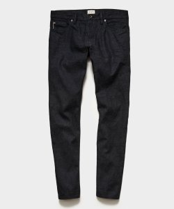 Todd Snyder SLIM FIT LIGHTWEIGHT JAPANESE SELVEDGE JEAN IN CHARCOAL