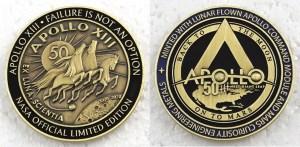 Apollo 13 medallion, best NASA merch