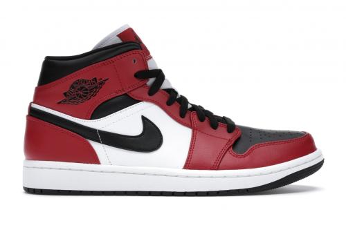Jordan I Mid Chicago Toe Sneaker