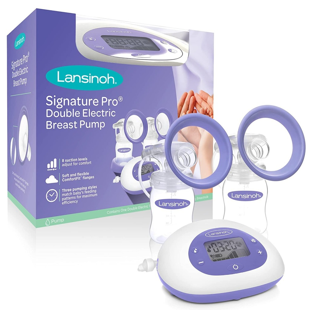 Lansinoh SignaturePro Double Electric Breast Pump, best gifts for new moms