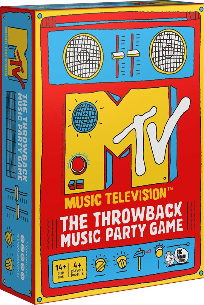MTV The Music Throwback Party Quiz Board Game
