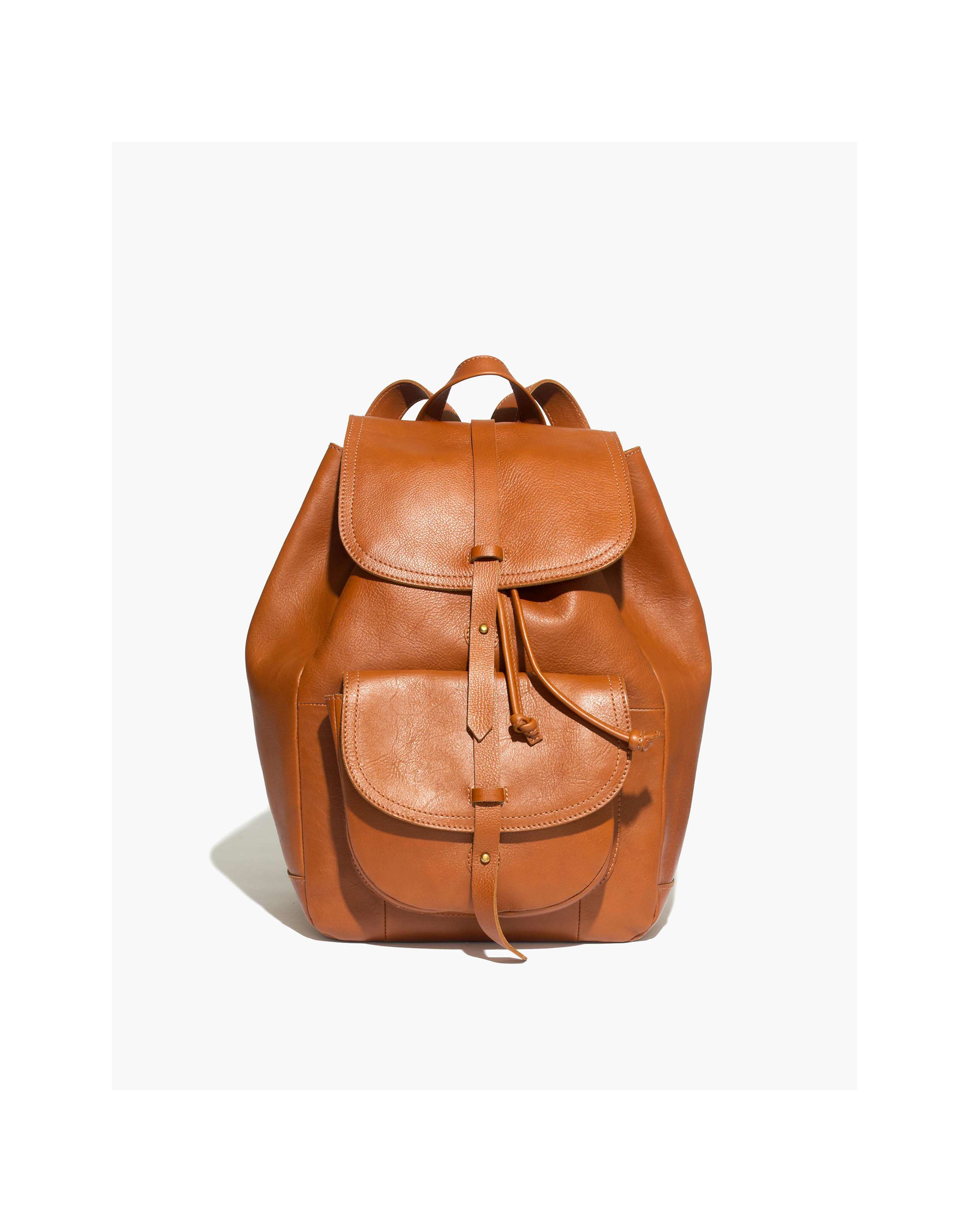 Madewell leather rucksack, gifts for wife