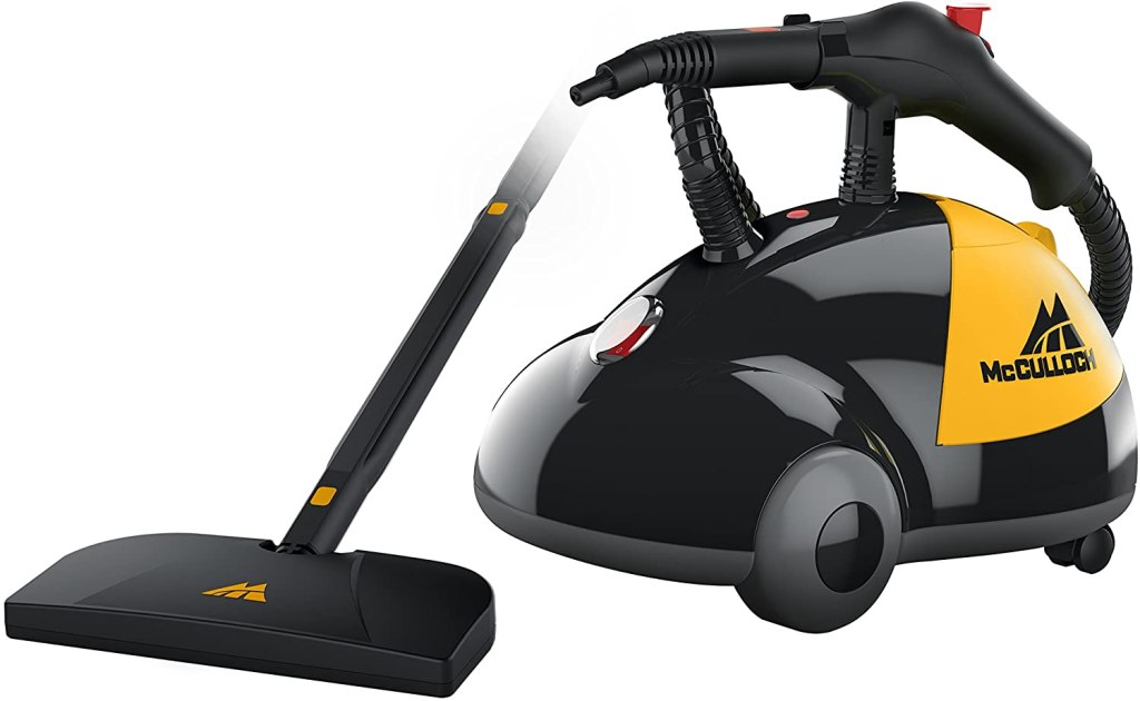 mcculloch heavy duty steam cleaner, best upholstery cleaner