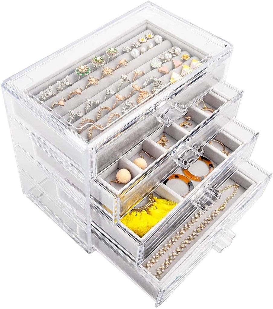 Mebbay Acrylic Jewelry Box