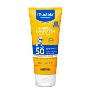 Mustela Baby Mineral Sunscreen - Broad Spectrum SPF 50