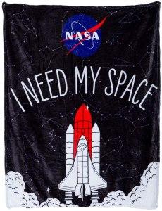 NASA Space blanket, best NASA merch