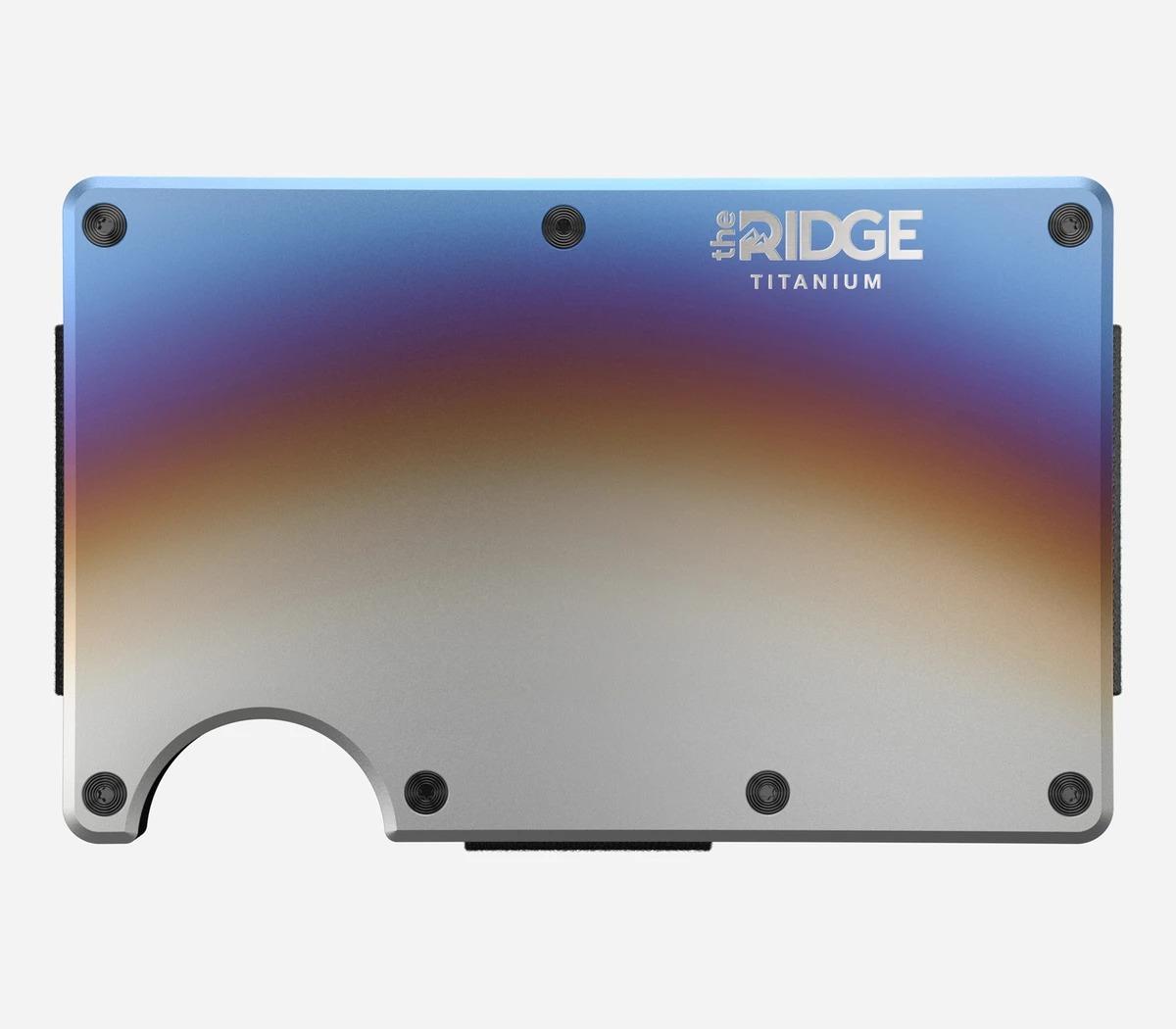 The Ridge Titanium Burnt Wallet