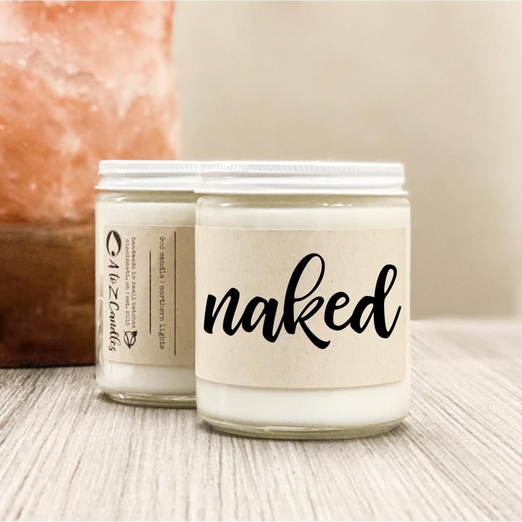 A to Z Naked Candle