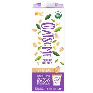 oatsome organic oat milk