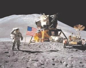 Apollo 15 rover poster, best NASA merch