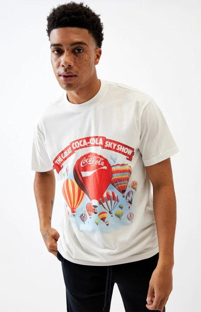 Pac-Sun-Coca-Cola-Sky-Show-T-Shirt Vintage t-shirt
