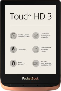 Best e-readers pocketbook touch hd 3