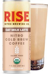 rise brewing co. oat milk nitro cold brew