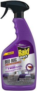 best bed bugs spray raid max protection
