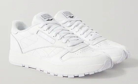 Reebok + Maison Margiela Classic Tabi Leather Sneakers - Best Designer Sneakers