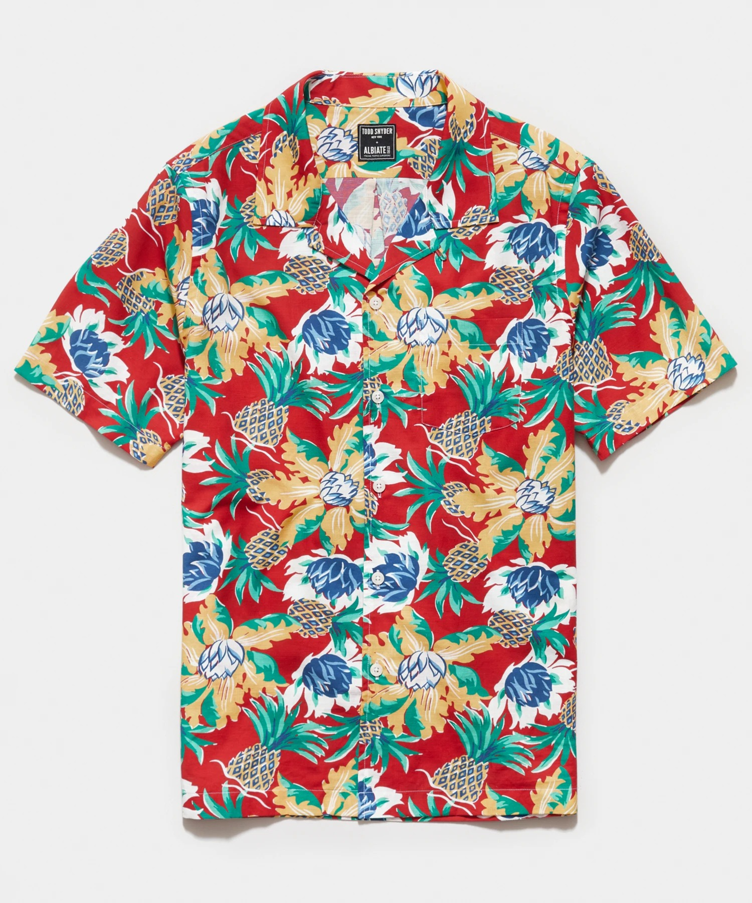 Todd Snyder Italian Camp Collar Shirt