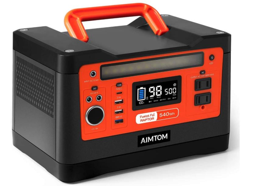 AIMTOM 540Wh Portable Solar Generator