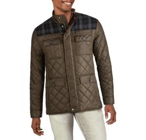 cole haan multimedia quilted jacket, men's winter coats on sale