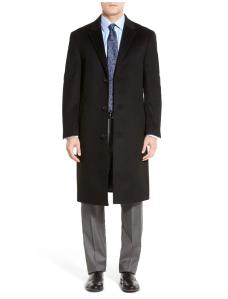 sheffield wool & cashmere overcoat, men's winter coats on sale
