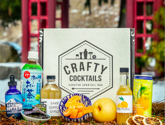 crafty cocktail, cocktail subscription box