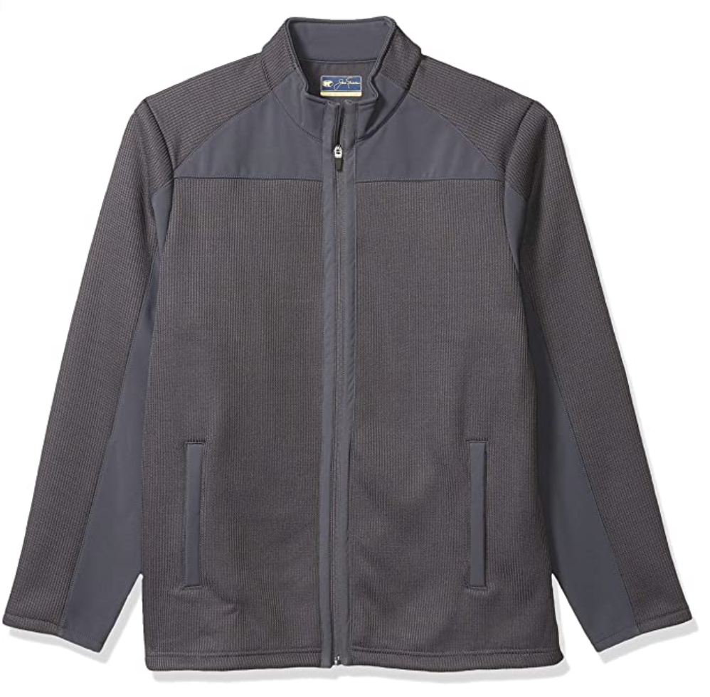 Jack NicklausHeavyweight Fleece Back Jacket, best golf jackets