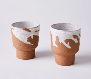 A Question of Eagles Handmade Ceramic Holding Mugs