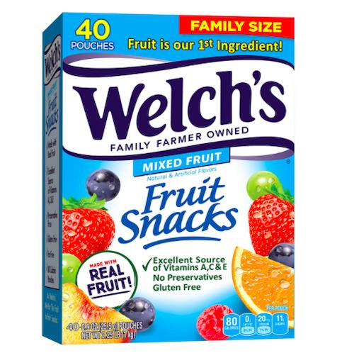 welchs fruit snacks, best stoner snacks