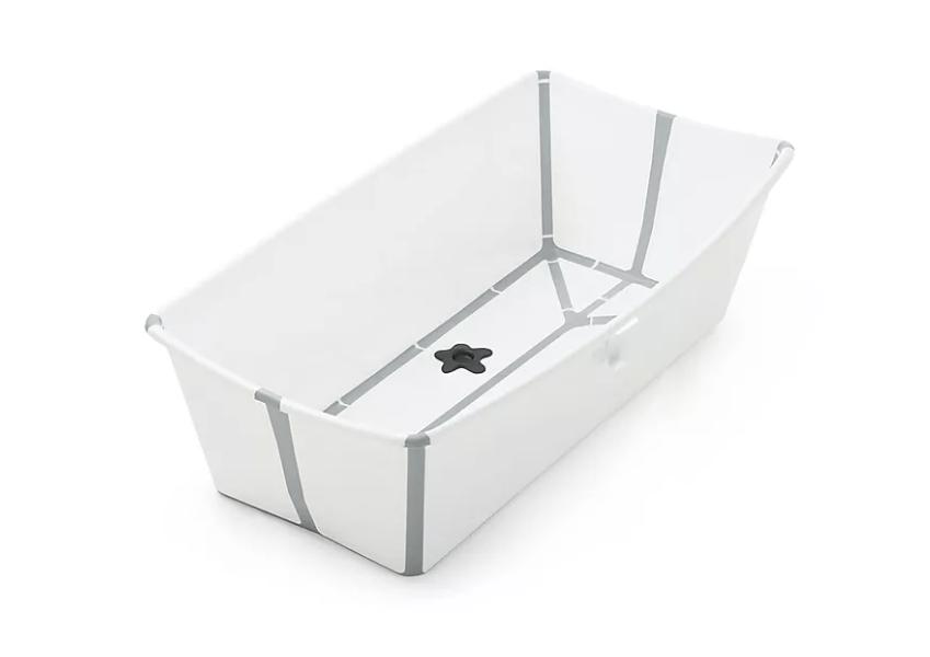 Flexi Bath® Foldable Baby Bath Tub with Temperature Plug by Stokke