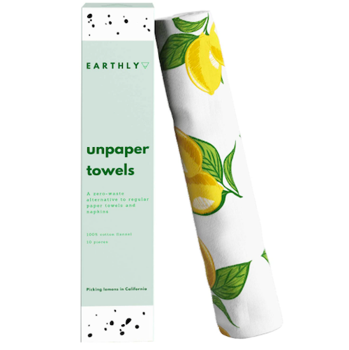 Earthly's Unpaper Towels