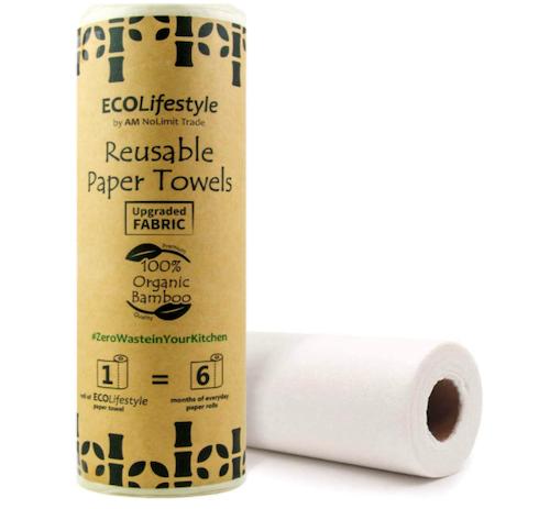 AM NoLimit Trade Reusable Bamboo Paper Towels