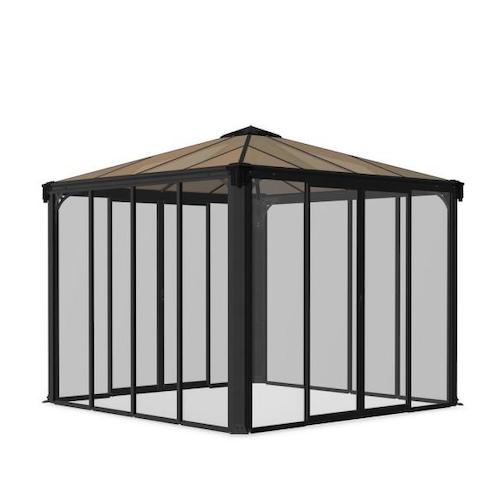 Canopia by Palram Closed Gazebo/Hot Tub Enclosure and Solarium
