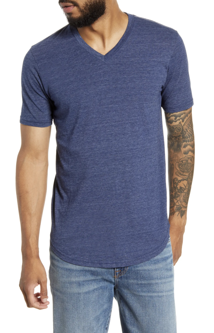 Goodlife Triblend Scallop V-Neck T-Shirt