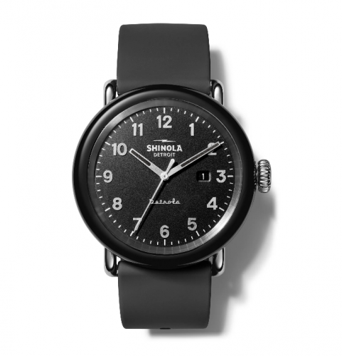 Shinola Detrola Silicone Strap Watch