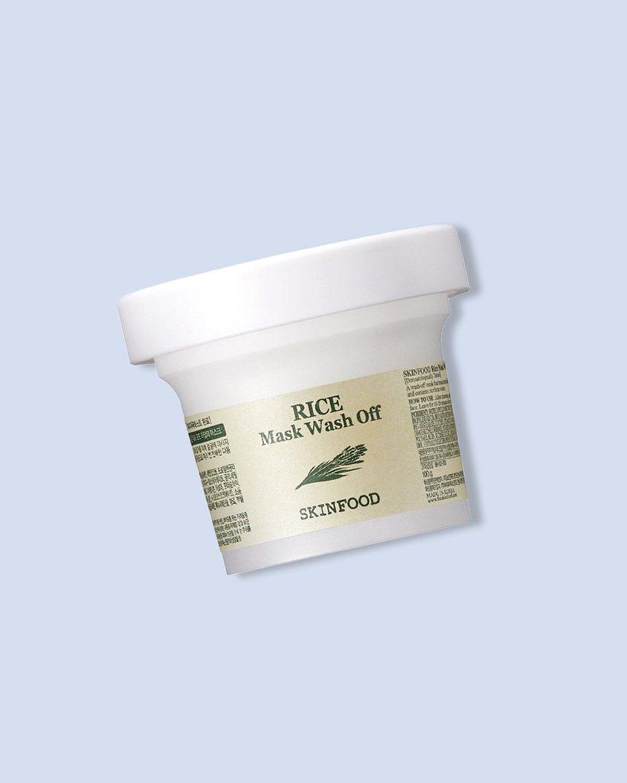 Skinfood Rice Wash-Off Face Mask; best Korean face mask