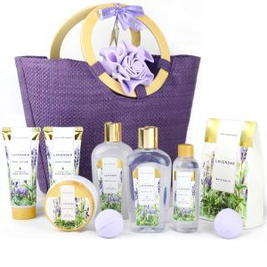 spa luxetique spa gift basket, gifts for mom