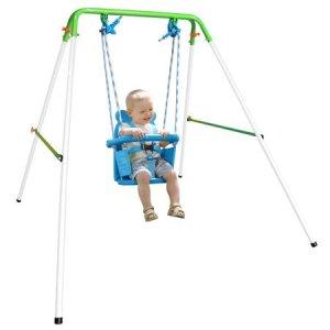 backyard swing sets sportspower indoor outdoor my first todler swing