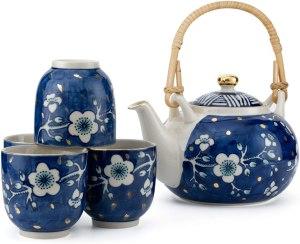 Taimei Teatime Hand Painted Tea Set