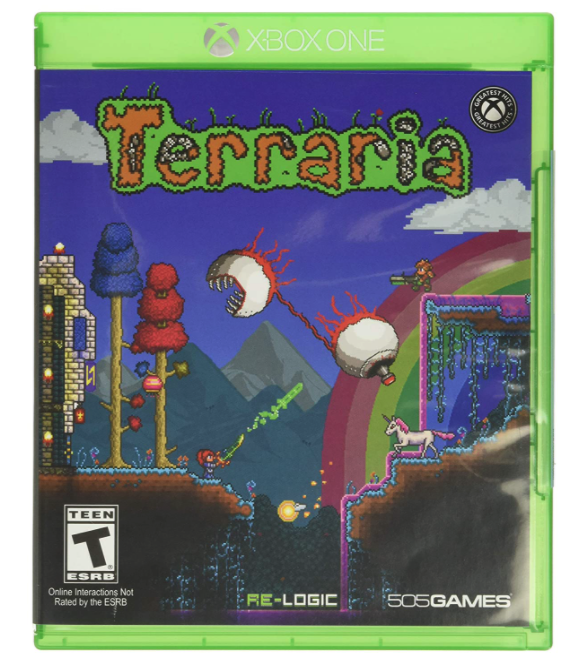 Terraria survival game