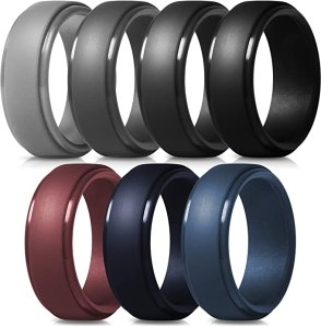 silicone rings for men thunderfit mens