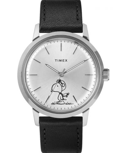 Timex x Peanuts Marlin Automatic Flying Ace Watch