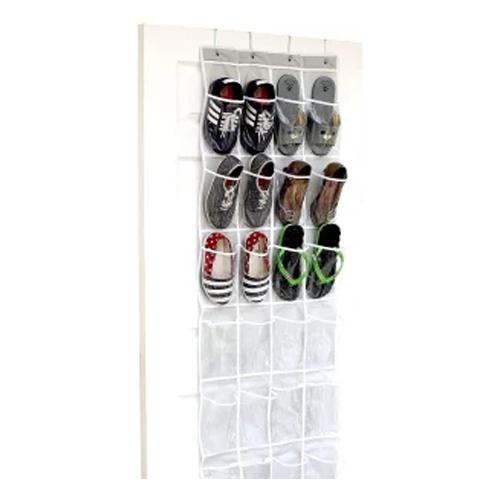 Simple Houseware Door Hanging Shoe Organizer, best shoe organizers