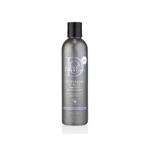 Design Essentials Peppermint & Aloe Therapeutics Anti-Itch Shampoo, Best Natural Shampoos