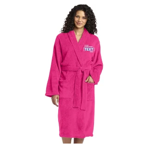 Printualist Personalized Embroidered Robes for Women