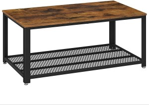 coffee tables vasagle industrial