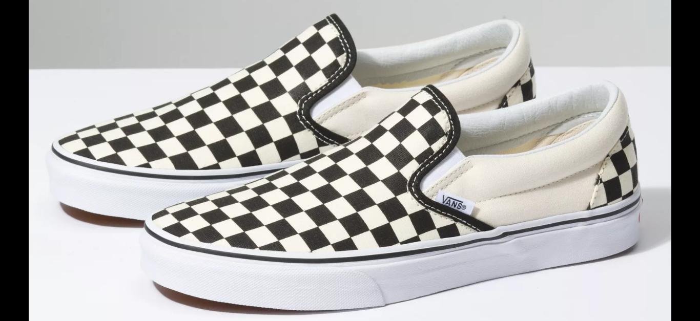 Vans-Checkerboard-slip-on-sneakers