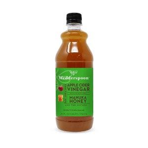 apple cider vinegar wedderspoon